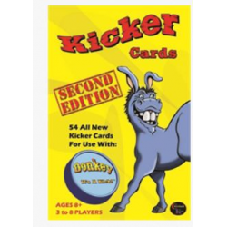 DONKEY PARTY GAME - EXPANSION - 2nd EDITION KICKER CARDS