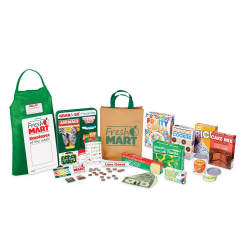 FRESH MART GROCERY STORE COMPANION SET (6)