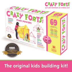 CRAZY FORTS - PINK (upc: 690396000045)