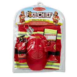 FIRE CHIEF ROLE PLAY SET (EA)